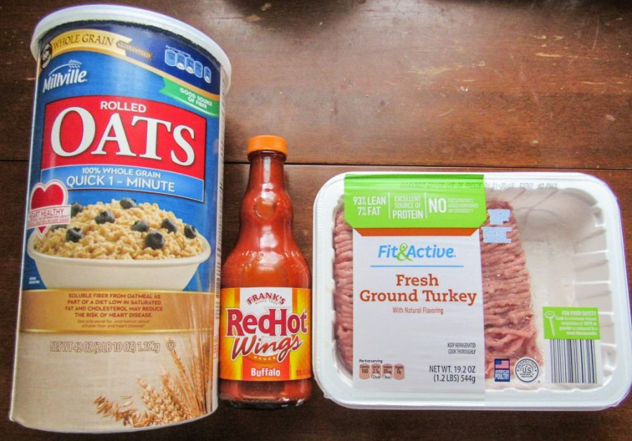 Buffalo Turkey Burger Ingredients