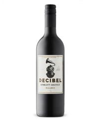 Decibel Gimblett Gravels Malbec red wine 2017 13%