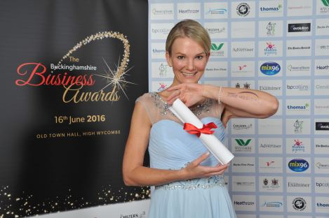 Angela Spang is Finalist as BUSINESS LEADER of the year 2016
