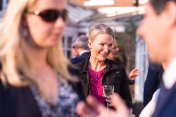 Angela Spang at BBF UK Reception at The Compleat Angler