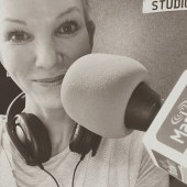 Angela Spang visits local radio