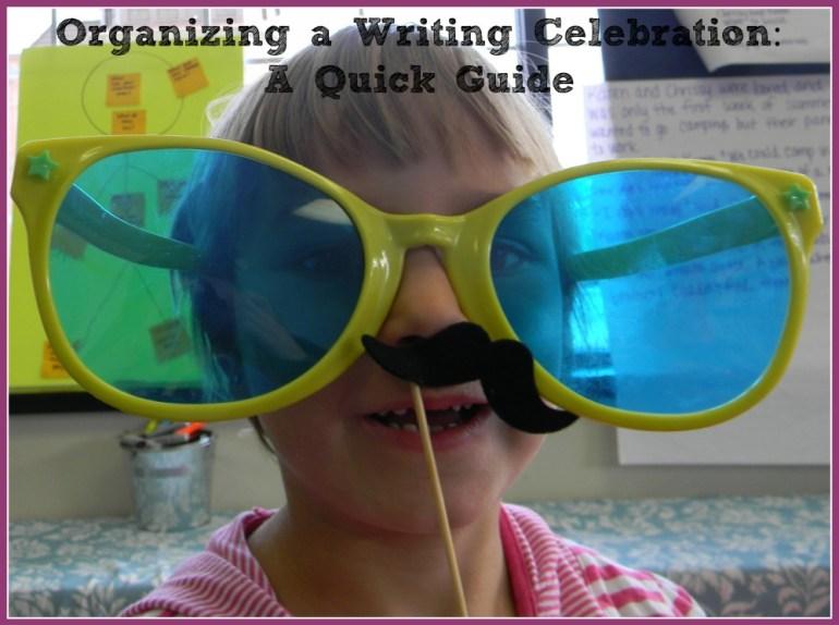 writing celebration