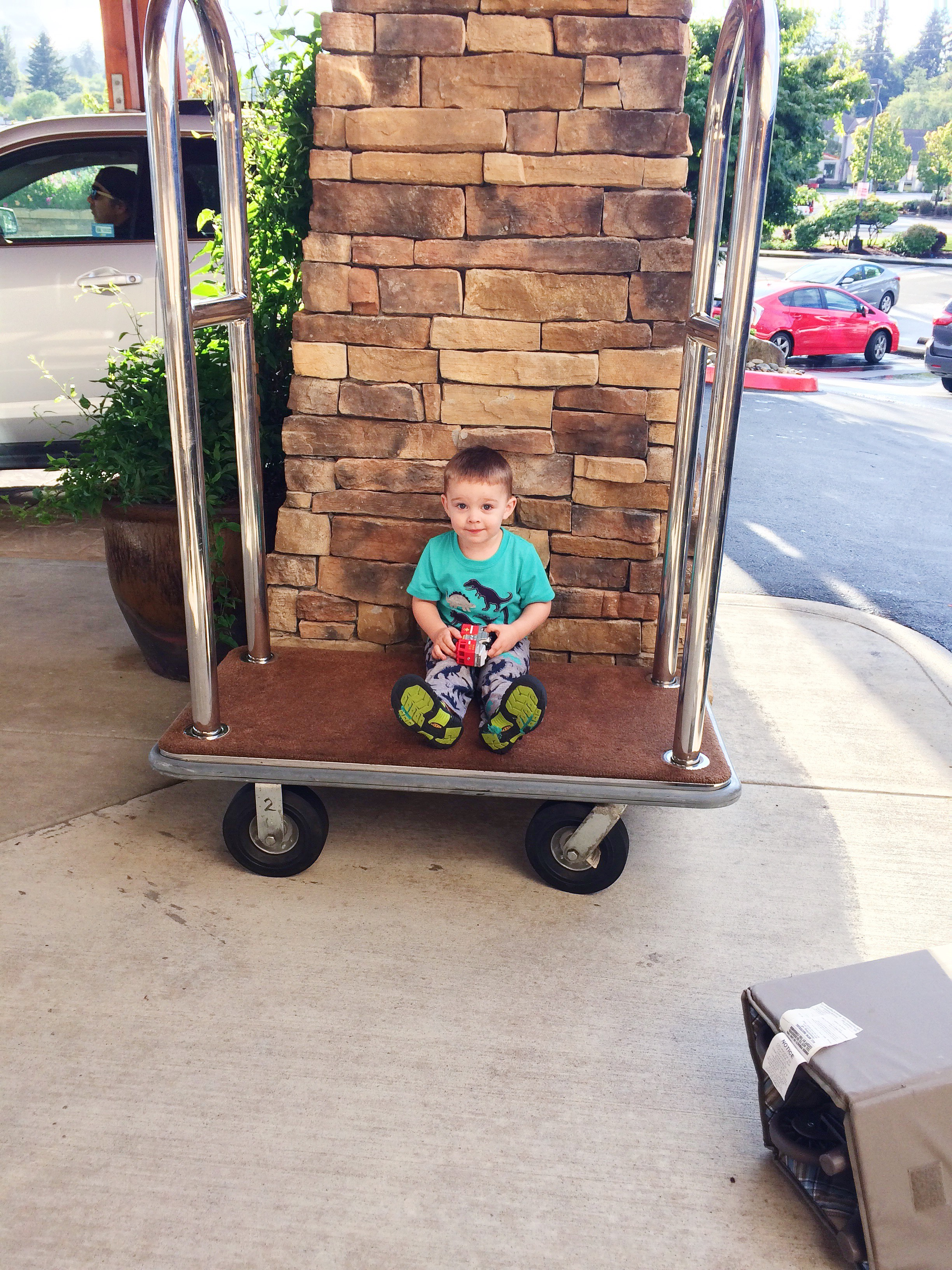 military move with toddler