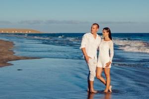Beach Ceremony Couple