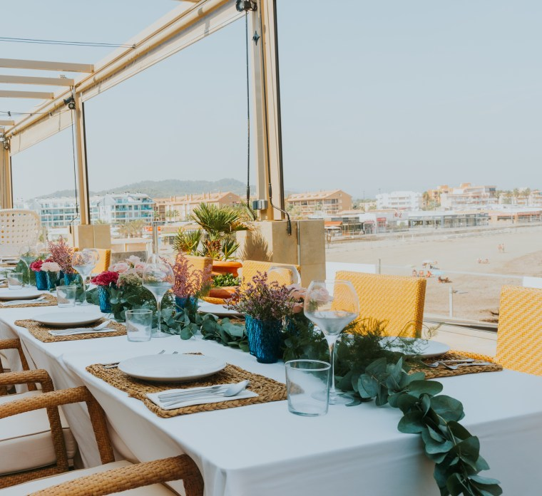 Seafront Wedding Venue, Javea, Costa Blanca, Spain