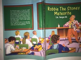 robbie the stoney meteorite