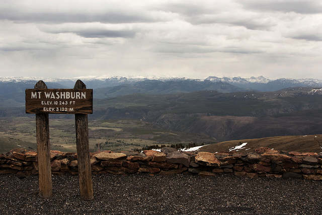 mt washburn summit