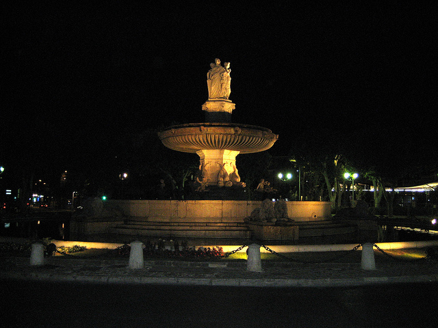 Fountain de la Rotonde