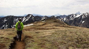 Hiking Mount Townsend