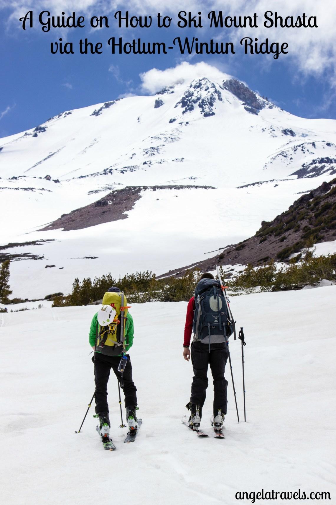 Everything you need to know to climb and ski Mt. Shasta's Hotlum-Wintun Ridge.