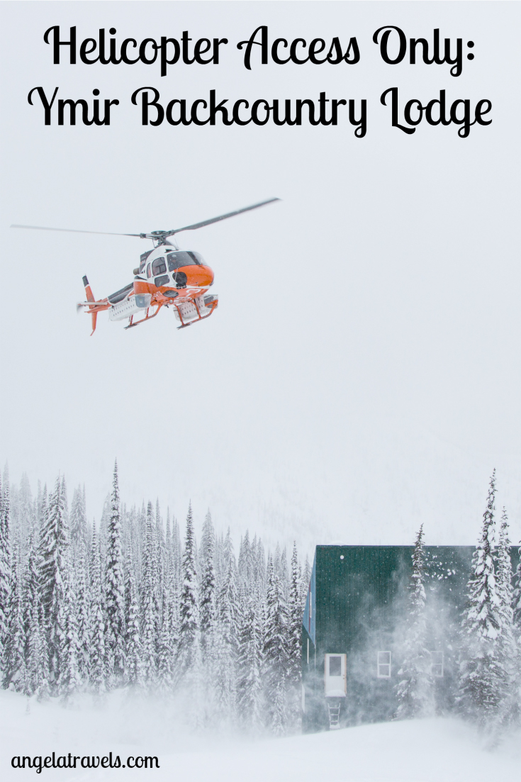 Helicopter Access Only: Ymir Backcountry Lodge in Canada