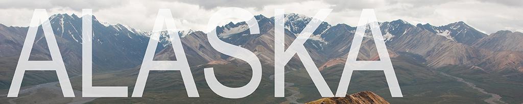 a banner that links to alaska blog posts