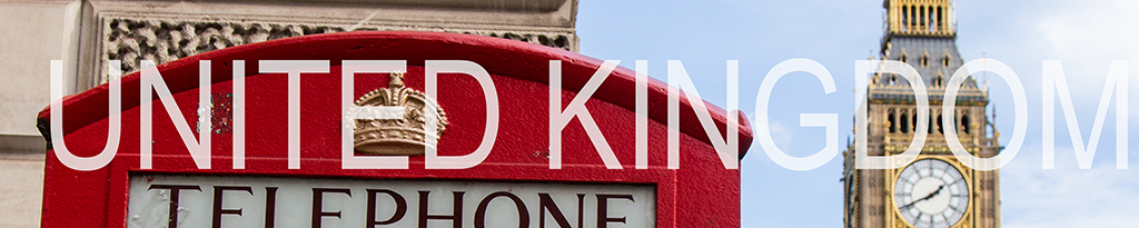 a banner linked to united kingdom blog posts