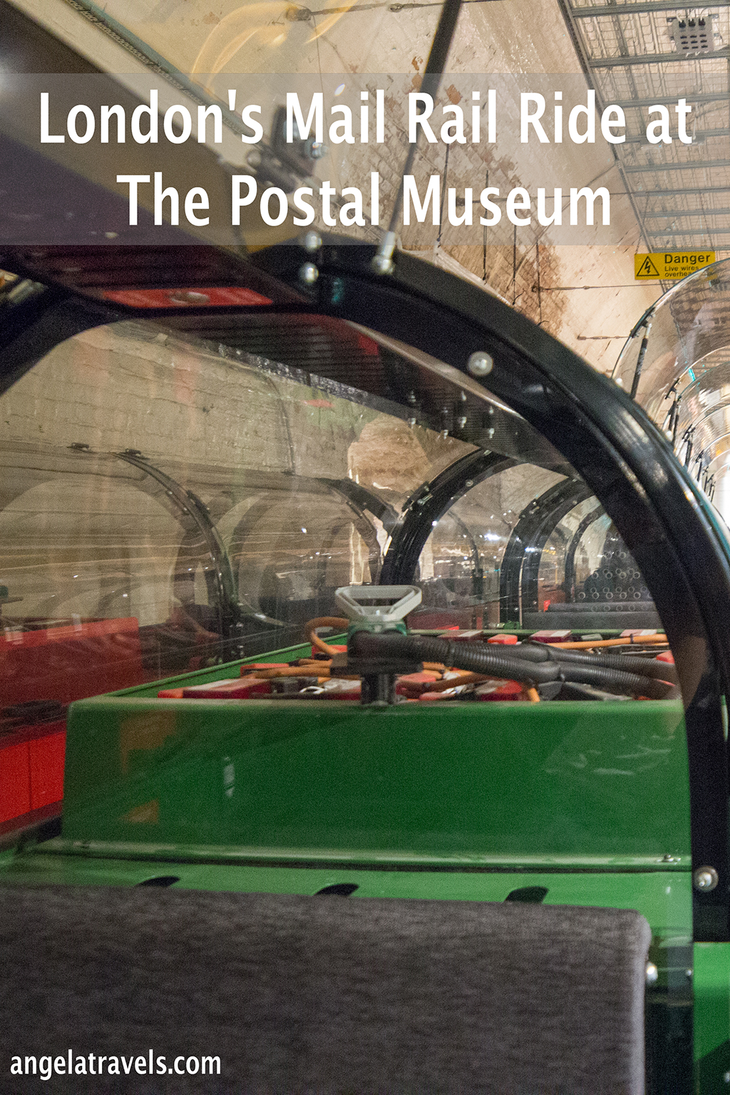 London's Mail Rail Ride at The Postal Museum