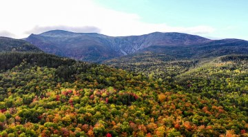 Mount Washington, New Hampshire in the fall