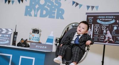 【寶寶寫真】寶貝老闆BOSS Ryder主題:很有派頭的一週歲寫真紀錄