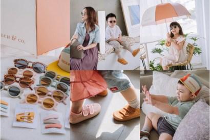 【育兒】色調好迷人的丹麥 Grech&Co.親子潮流太陽眼鏡(雨傘,髮飾,便鞋,遮陽帽)