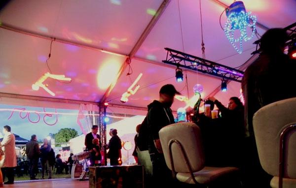 Installation Lumière festival Le Rock Dans Tous Ses Etats VIP 2013