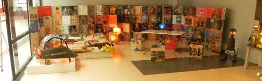 """installation """"la maison merveilleuse"""" à la MDU de rouen"""