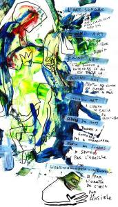 affiche 1 marchand 1 artiste 2019 Biron