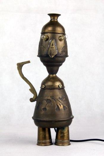 Sculpture objets détournés