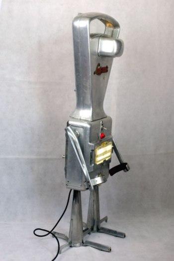 Robot Lustrana, balance fonte d'alu