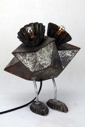 Sculpture moules à gâteaux.