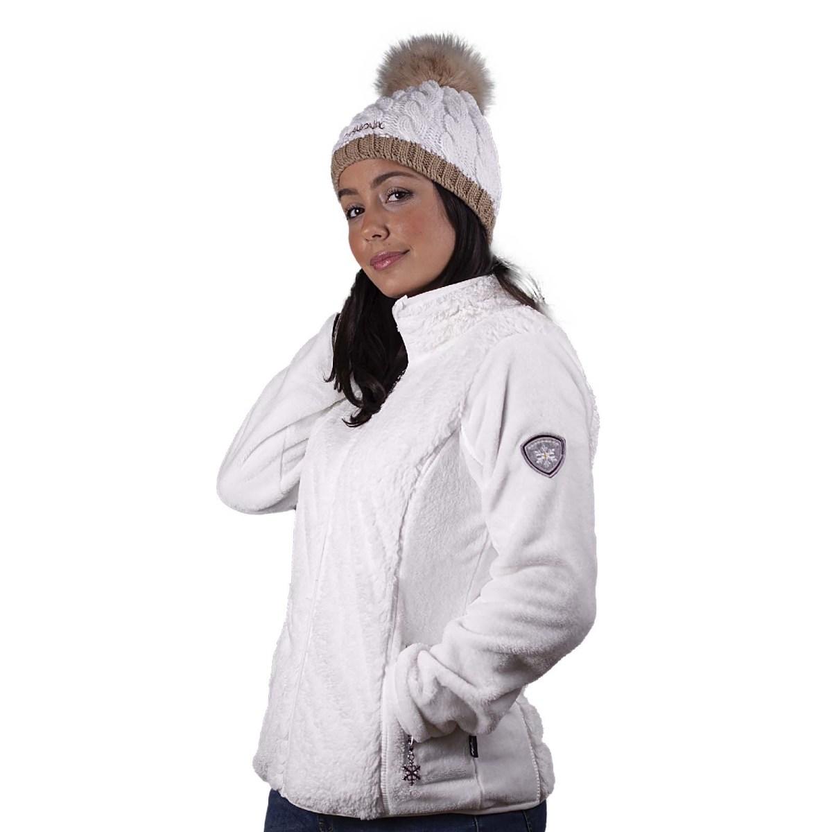 veste polaire linz blanc angele sportswear