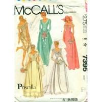 Bridal Dress Pattern Bridesmaid Gowns - Angel Elegance Vintage