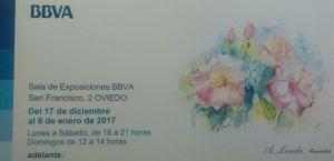 Exposición en Sala BBVA Oviedo - Angeles Losada
