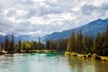 Elbow River, Downtown Banff
