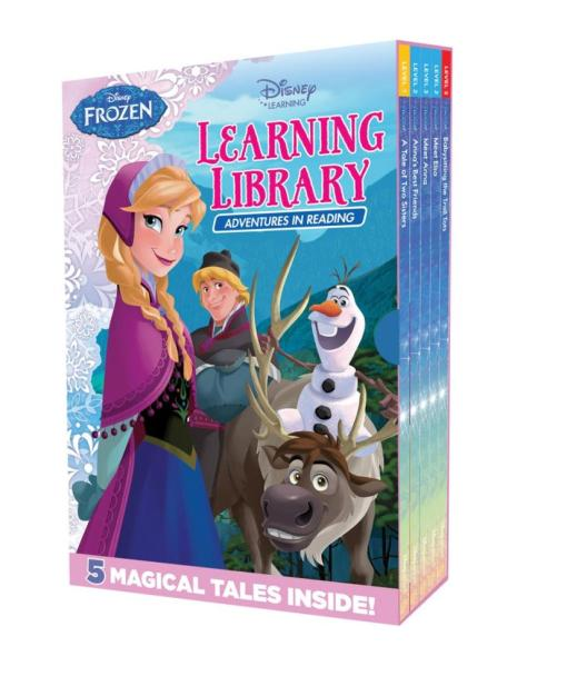 book learning- ibrary adventures in reading