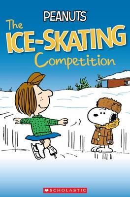 book peanuts the ice skating competition