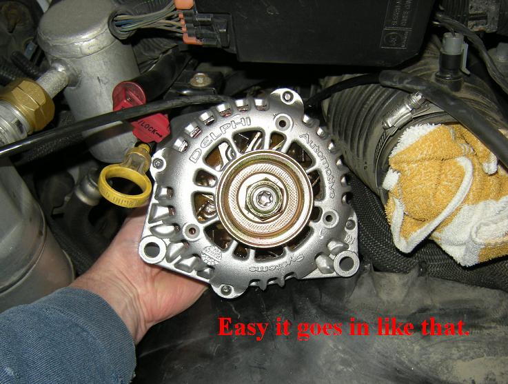 AstroSafari.com • Alternator Removal/Replacement How-To