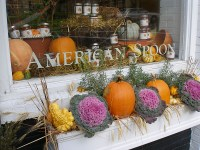 fall window boxes and outdoor decorations | angel food garden