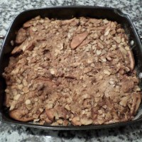smoker apple crisp