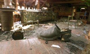 bali bombing shoe