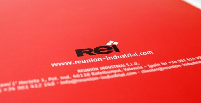 REI reunión industrial catalogo diseño editorial gráfico maquetación publicidad