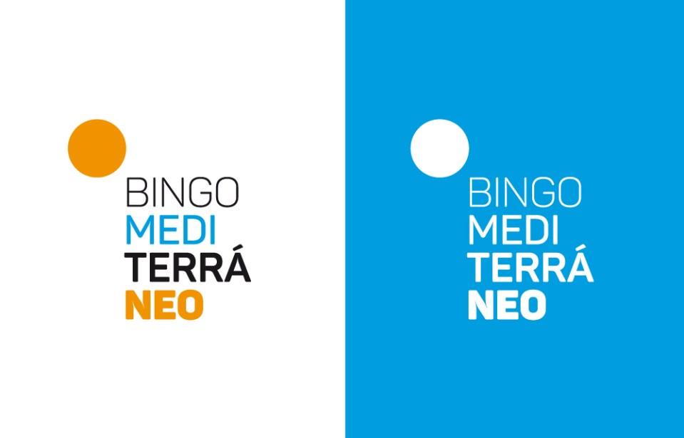 marca bingo mediterraneo diseño identidad corporativa valencia branding sol naranja comunidad valenciana juego apuesta