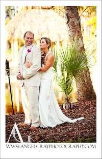 Tropical Backyard Wedding Merrit Island FL } Lou and April ...