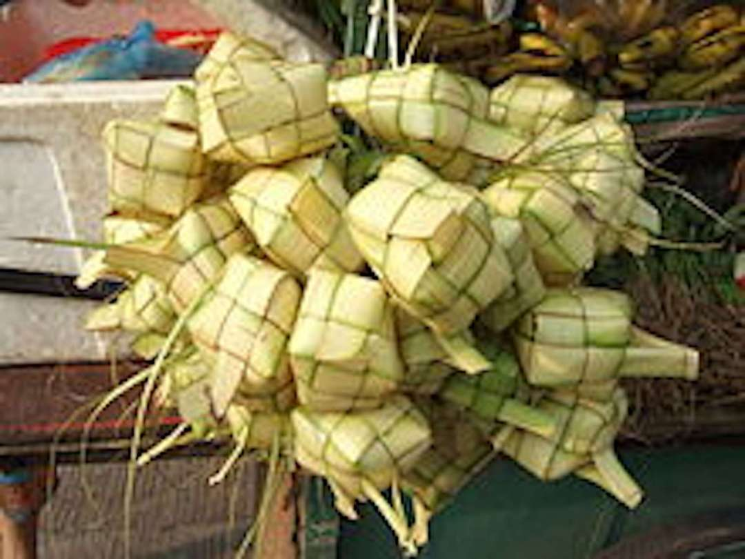 Tipat Cantok: Balinese sticky rice