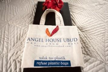 Guest gift: reusable shopping bag