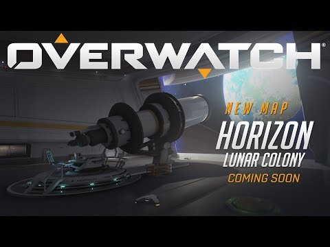 COMING SOON - Horizon Lunar Colony - New Map Preview - Overwatch