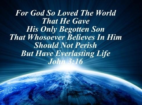 john 3:16 the love of God