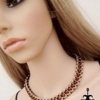 Elfweave Braid Chainmaille Necklace