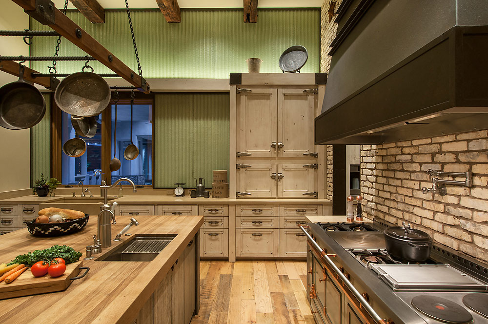 Rustic Revelations - Kitchen - Angelica Henry Design