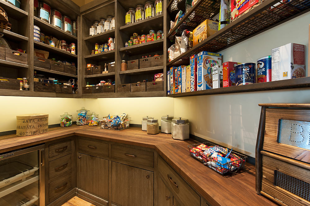 Rustic Revelation - Kitchen Pantry Detail - Angelica Henry Design