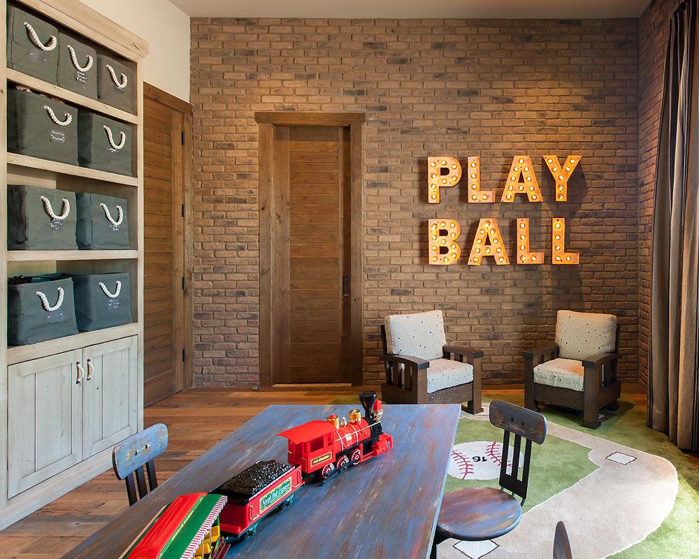 Rustic Revelation - Toy Room - Angelica Henry Design