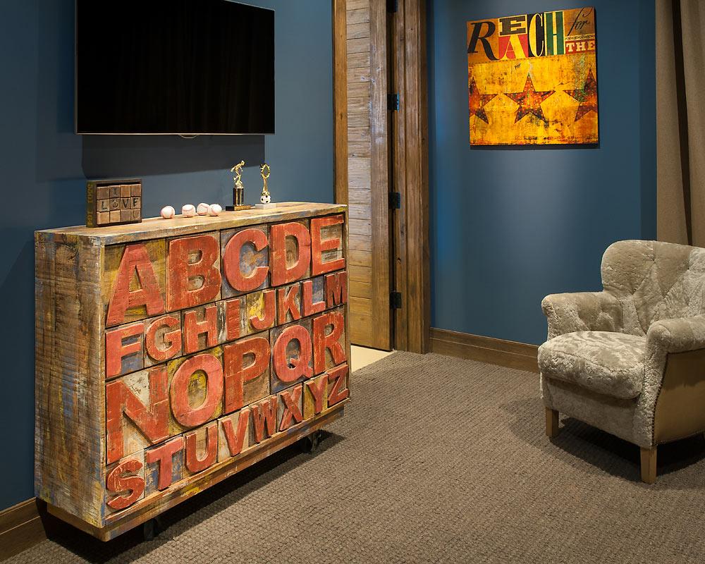 Rustic Revelation - Boys Room Detail - Angelica Henry Design