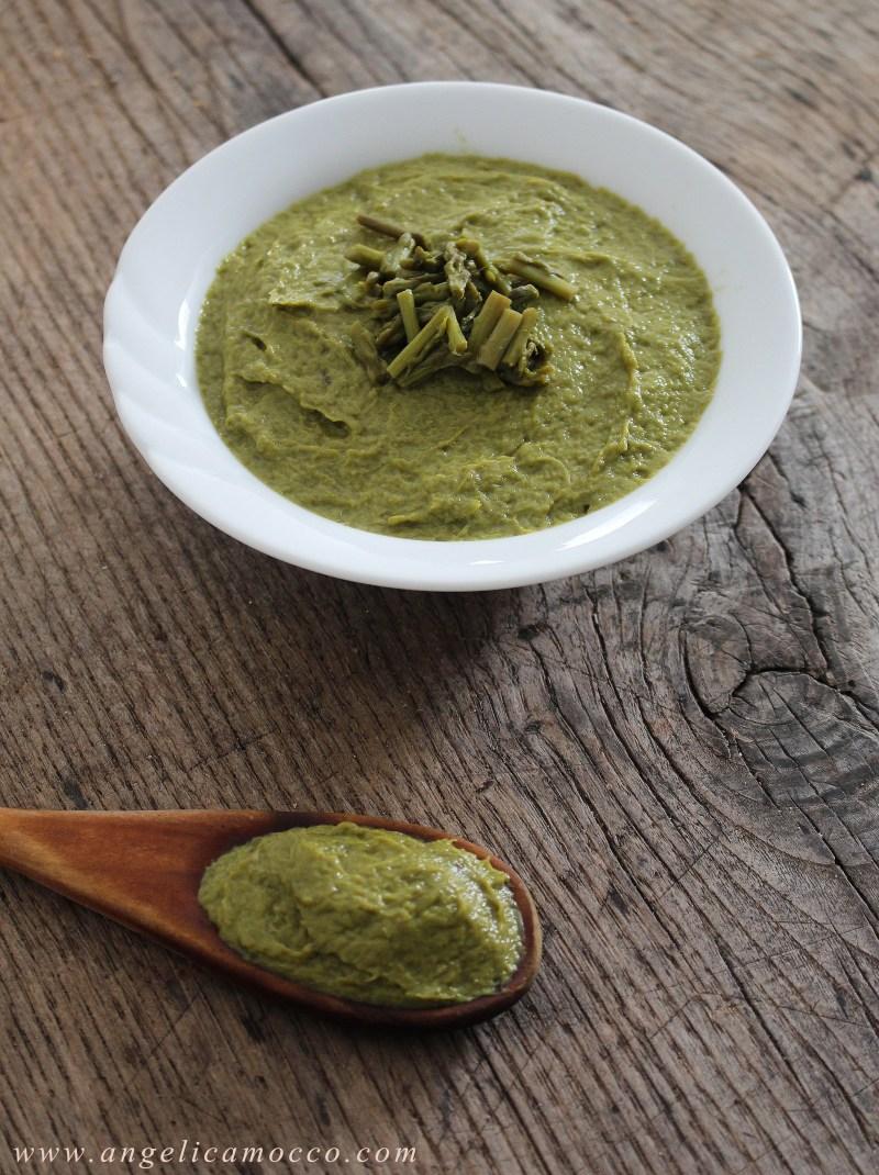 salsa di asparagi vegan